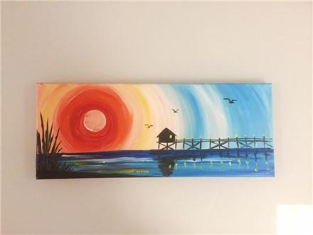 Bayside Pier (adult) Canvas Class