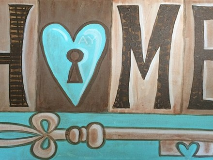 Heart and Home Canvas and Cocktails