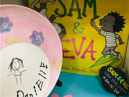 Pre-K Saturday Storytime: Sam & Eva
