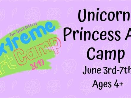 Unicorn Princess Art Camp