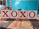 LOVE/XOXO Wooden Board Set