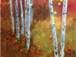 """Autumn Leaves"" Group Party at Sketch Pad"