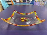 Fall Fused Glass Bowl -  October 28th