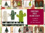 Christmas Tree's in June & July! (LOWEST PRICES OF THE YEAR)