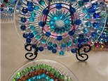 Glass Sun Catcher Mandelas - 7/23