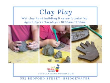 Clay Play - Tuesdays