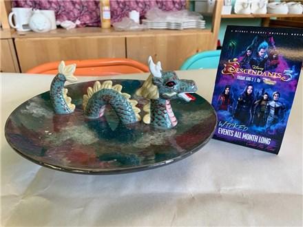 Descendants 3 Kids Night Out - Dragon Plate - 8/16