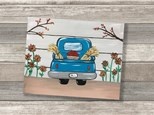 """Vintage Fall Truck"" Canvas Class ages 8 & up 11/14/19"