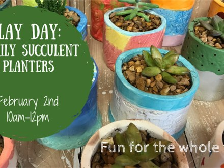 Clay Day: Family Succulent Planters