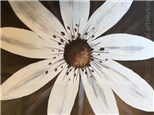 Canvas & Wine Night!  White Daisy!  9/1/16