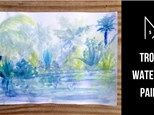 Tropical Watercolor Painting