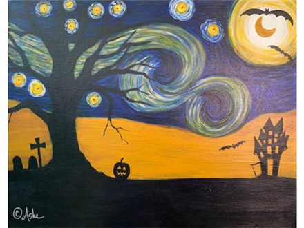 Spooky Starry Night - Sat. Sept. 28th at 7pm