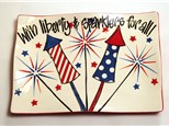Paint Wine and Dine - July - Liberty and Sparklers