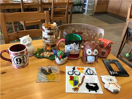 Harry Potter Painting Party