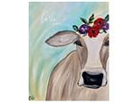 Peek-a-Moo Cow Paint Class