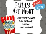 Family Art Night (At Home!)