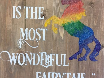 Board Art - Life itself is the most Wonderful Fairy Tale - Evening Session - 08.19.17