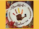 Mommy & Me - Thanksgiving Print Plate - Saturday, November 3