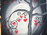 Heart Tree Canvas - 2/8/20 - 6:30pm