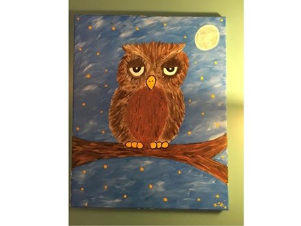 Kids' Drop-off Painting Pizza Party! !  5/13/16