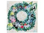 Mixed Media Wreath Paint Class - WR