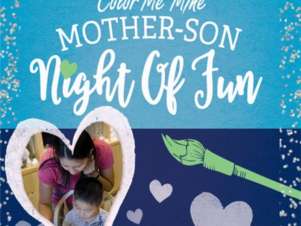Mother & Son Night of Fun-Saturday, Feb. 8th