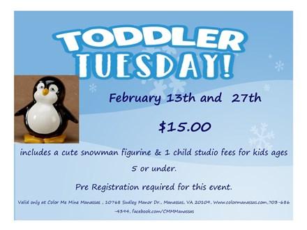 Toddler Tuesday!