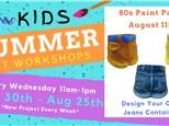 Kids Art Workshop - 80's Day 8/11