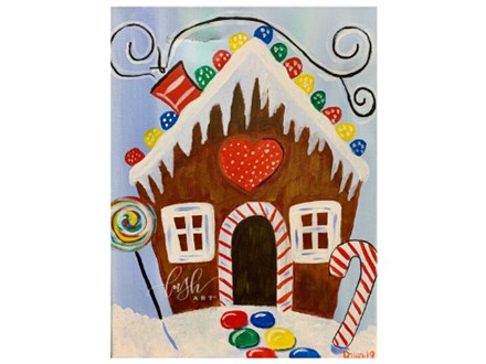 Gingerbread House Paint Class