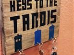 Kid's Board Art - Keys to the Tardis - Morning Session - 12.26.18