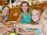 Kids Party at COLOR ME MINE - NAPERVILLE