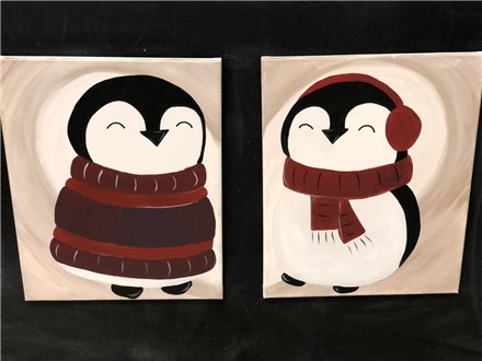 Valentine's Evening -Couples Canvas
