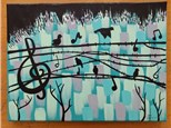 Birds and Music Paint & Sip with Toni 2-5PM 8/11