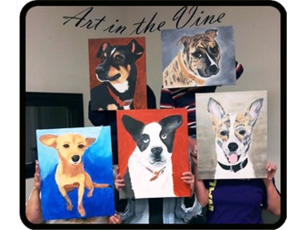 Paint your Pet Fundraiser: Urgent Animals of Fort Worth 10/08