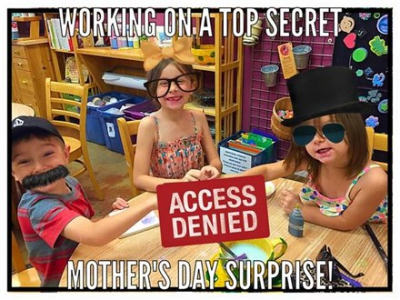 """Kids Night Out """"Mother's Day Surprise!"""" April 27, 2018"""