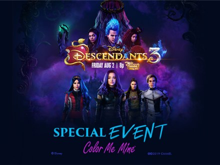 Descendants 3 Watch Party - August 3 @ 6:30pm