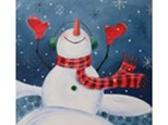 Adult Canvas Night January 8th Let it Snow!