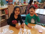 "Students play ""Magic Number""© to hone their addition & subtraction skills. (Game available for purchase!)"