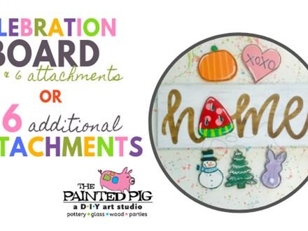 Celebration Board Workshop OR Additional Attachments Workshop (12/5)