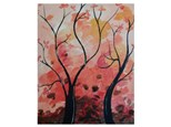 Autumn Twisted Trees - Paint & Sip - Oct 14