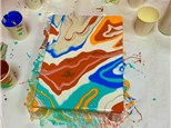 Canvas Pour Class - October 24th from 6pm - 8pm