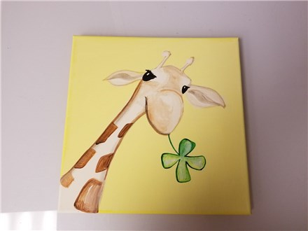 Patty O'Giraffe Kids Canvas Class $25 (Age 6 and Up)