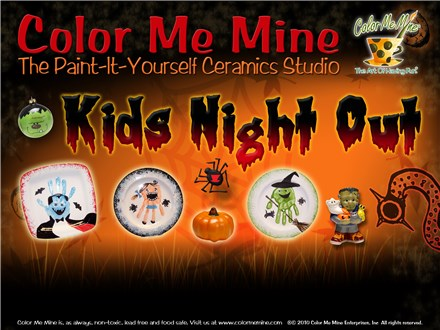 Kids Night Out - Halloween! October 6th