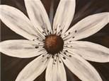"Sip-N-Paint ""White Daisy"" (Thurs. 09/17)"