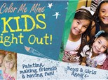 Kids Night Out! At Color Me Mine of Ridgewood