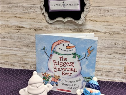 Mommy & Me Story Time: The Biggest Snowman Ever! PM Class