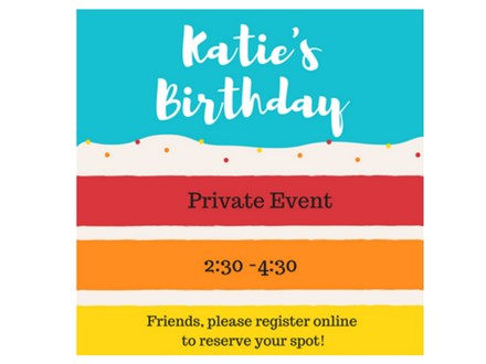 Katie's Birthday - Private Paint & Sip - August 12