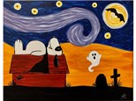 Spooky Snoopy - Sat. Oct. 12th at 10am (ages 6+)