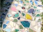 June mosaic stepping stone class