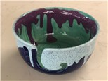 Yarn bowl painting